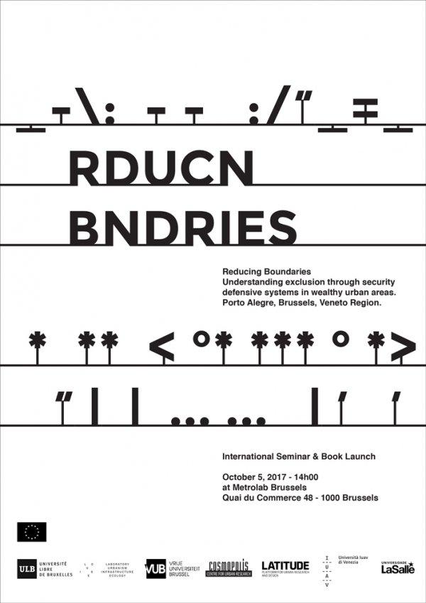 Reducing Boundaries, final event at Metrolab, Brussels